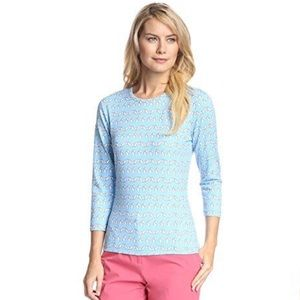 J. McLaughlin Signature Tee Catalina Cloth